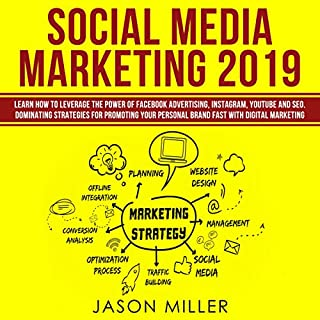 Social Media Marketing 2019     Learn How to Leverage the Power of Facebook Advertising, Instagram, YouTube and SEO for Promoting Your Personal Brand              By:                                                                                                                                 Jason Miller                               Narrated by:                                                                                                                                 Daniel Pegg                      Length: 2 hrs and 19 mins     Not rated yet     Overall 0.0