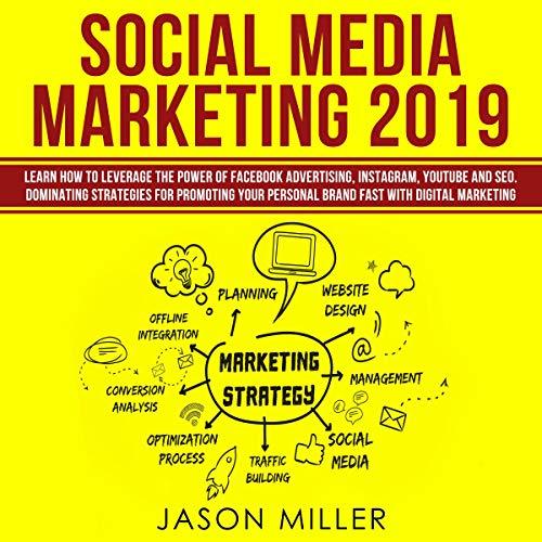 Social Media Marketing 2019 Audiobook By Jason Miller cover art