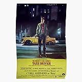 Culture Movie Taxi History Niro Vintage Deniro Robert Driver De Home Decor Wall Art Print Poster !