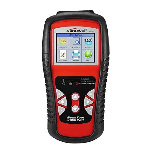 KONNWEI KW830 Kfz Profi OBD2 OBDII Diagnosegerät Werkzeug Diagnose Scanner Auto-Tester Codeleser Multiplexer für OBD2 Fahrzeuge PKW LKW