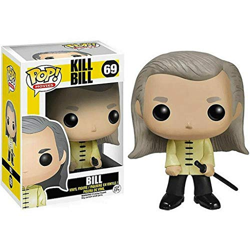 Lotoy Funko Pop Television : Kill Bill - Bill 3.9inch Vinyl Gift for Boys Fantasy Movie Fans Gift