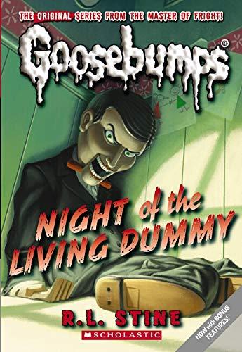 Night Of The Living Dummy: 01 (Goosebumps)