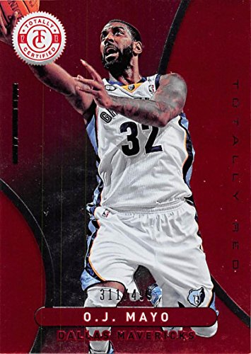 Basketball NBA 12-13 Panini Totally Certified Red #240 O.J. Mayo NM 311/499