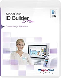 AlphaCard ID Builder Elite ID Card Software for Mac Computers