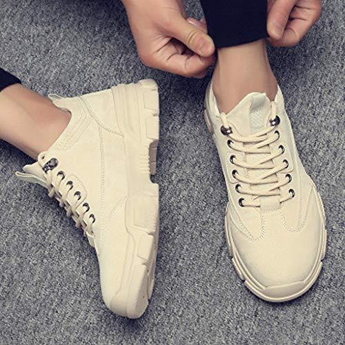 LMZX Martin laarzen mannen en vrouwen herfst paar modellen laag te helpen Retro casual laarzen gereedschap schoenen lederen laarzen