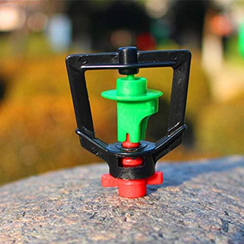 Miner 10 STKS Omgekeerde Roterende Micro Sproeikoppen Pijp Adapters Kas Irrigatie Tuingereedschap En Apparatuur Kwalit