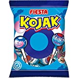 Kojak PIntalenguas - Caramelo con palo relleno de chicle - Bolsa de 7 unidades