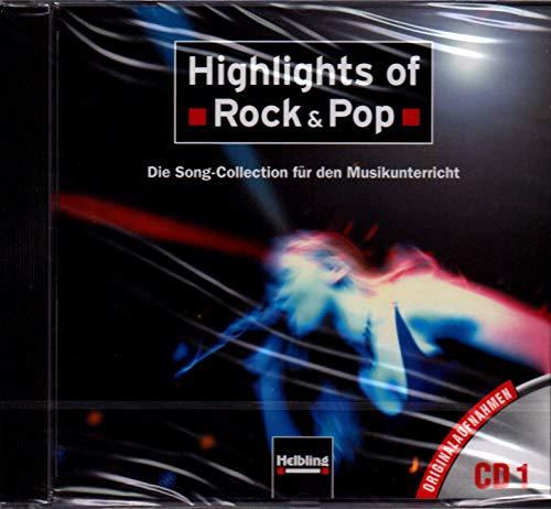 Highlights of Rock a Pop–De audio CD con grabación Original para gleichnamigen Cancionero–s5448cd 9783850612395