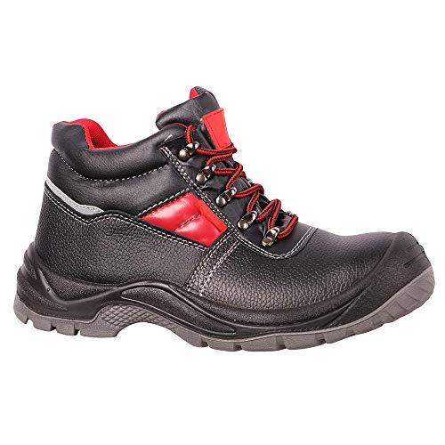 Chaussure de securité homme S3, Botte de securite, Chaussures de sécurité hommes, Cuir de veau, étanche chaussures de travail, bottes de securite Embout en acier, Antidérapante