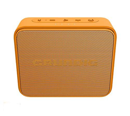 Grundig GBT Jam Orange - Altavoz Bluetooth, Alcance de 30 Metros, más de 30 Horas de reproducción