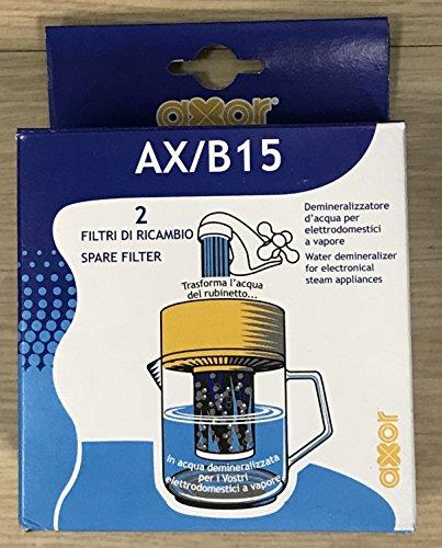 Demineralizzatore acqua per sistemi da stiro a vapore AX/B15