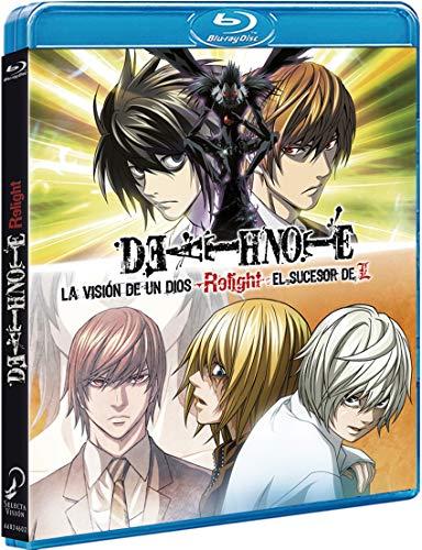 Death Note Relight Las Películas Blu-Ray (La Visión De Un Dios + El Sucesor De L) [Blu-ray]