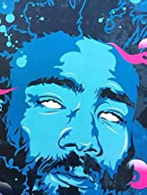 Burning Desire Posters Gambino Donald McKinley Glover Jr. mcDJ American Actor Comedian Writer Director Producer Singer Songwriter Rapper and DJ 12 x 18inches