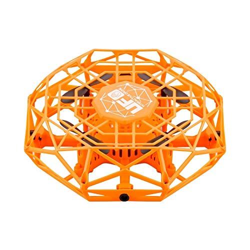 MIAOGOU Flugzeug Modell Mini Flying Helikopter UFO Rc Drohne 360 ° Drehbar Smart Mini UFO Drohne Für Kinder Fliegendes Spielzeug Am Besten Für Kindergeburtstag Weihnachten Gfit