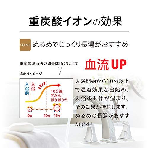 ホットアルバム炭酸泉タブレット『薬用ホットタブ重炭酸湯』