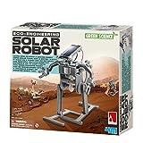 4M Green Science Solar Robot Kit - Green Energy Robotics, Eco-Engineering - STEM Toys Educational Gift for Kids & Teens, Girls & Boys