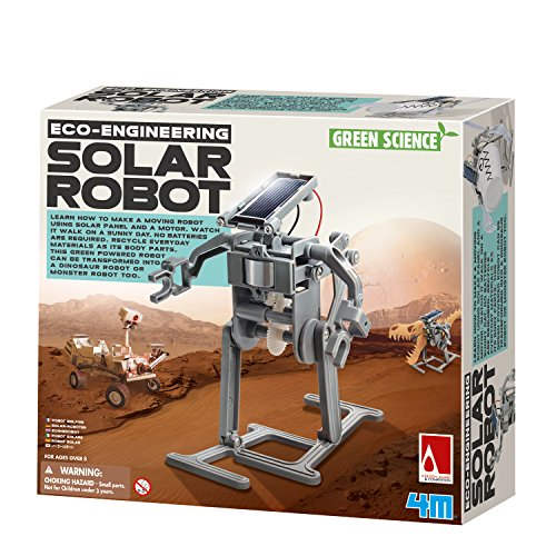 4M Green Science Solar Robot Kit - Green Energy Robotics,...