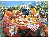 Unbekannt Sesamstrasse Picknick Poster 60 x 80 cm