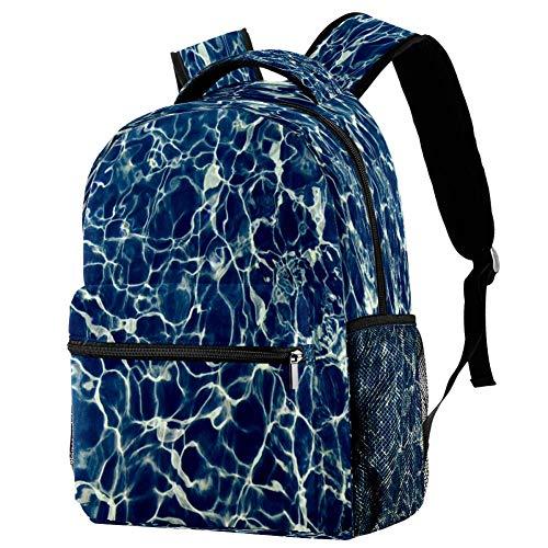 Mochila de unicornio de acuarela mochila escolar bolsa de libro mochila casual para viajes, estampado 3, Talla única, Mochila de a diario
