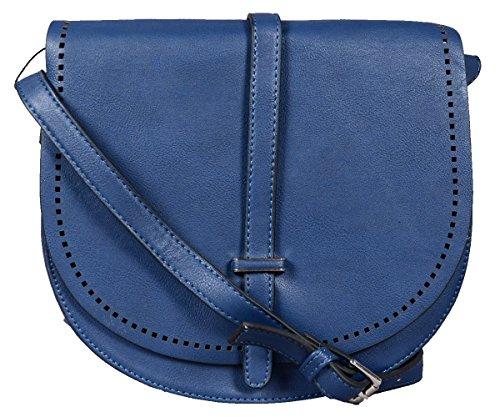 Grisodonna - Bolso al hombro de Material Sintético para mujer Azul azul