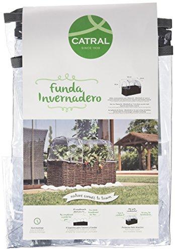 Catral 71080012 - funda invernadero para huerto kit planter 100 x 40 x 40 cm