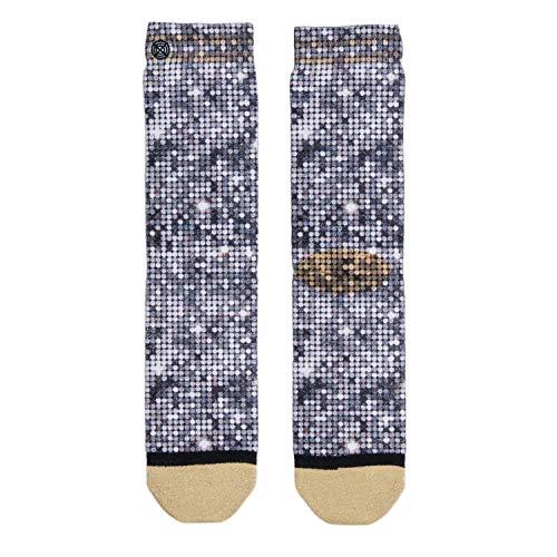XPOOOS Socke mittelhoch - 1 paar - Funkeln - Argent - Xmas only glitter - One Size
