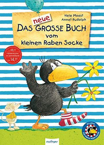 Das neue große Buch vom kleinen Raben Socke – Jubiläums-Relaunch (Der kleine Rabe Socke, Band 23282)