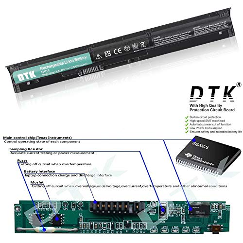 DTK Laptop-Akku für HP Envy 15 ProBook 450 455 470 G3 Series 805294-001 RI04 RI06XL HSTNN-DB7B HSTNN-PB6Q HSTNN-Q94C HSTNN-Q95C HSTNN-Q97C Akkus 14.8v 2600mah