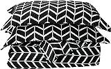 CELINE LINEN Luxury Silky Soft Coziest 1500 Thread Count Egyptian Quality 2-Piece Duvet Cover Set  Arrow Pattern  Wrinkle Free, 100% Hypoallergenic, Twin/Twin XL, Gray
