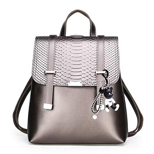 BUKESIYI Damen Tasche Rucksack Handtasche Frauen backpack Klein Anti Diebstahl...