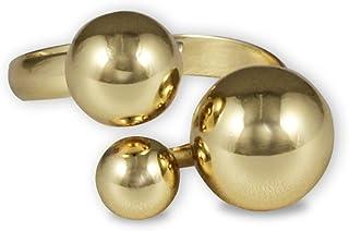 Karatcart Gold Metal Adjustable Ring for Women