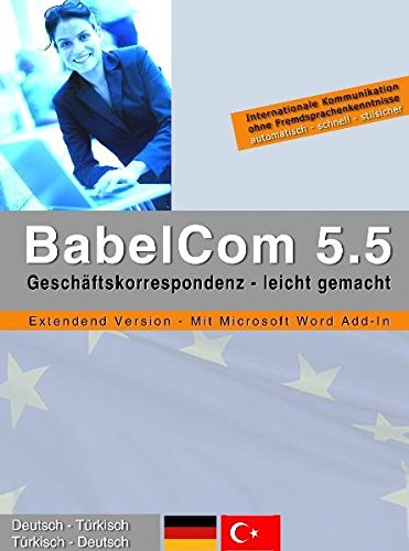 BabelCom 5.5 Extended Deutsch-Türkisch PC MAC [import allemand]
