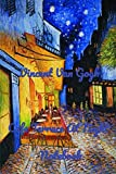 Vincent Van Gogh Cafe Terrace At Night Notebook: Password Logbook in Disguise with Beautiful Vincent Van Gogh Quote and Art (Discreet Password Keeper / Organizer)for men women kids art lovers