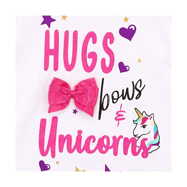 JoJo Siwa Girls Unicorn T-Shirt 4