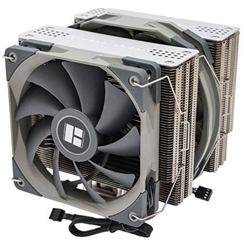 Motyy Radiador Enfriador de CPU de Doble Torre FS140 con Ventilador PWM de 140 Mm 4PIN para RefrigeracióN de CPU de Computadora 115X 2011 2066 AM4