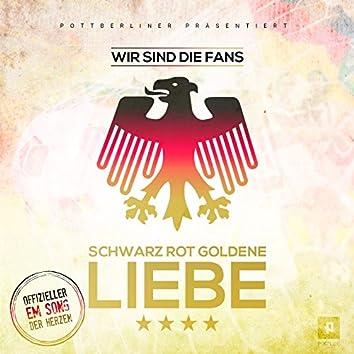 Schwarz Rot Goldene Liebe (feat. Herzblut, Roman Herzblut, Kizmo, Tiberias, Lapaz, Honke) [Der EM Song der Herzen]