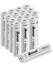 Bonai 単4形 充電池 充電式ニッケル水素電池 …