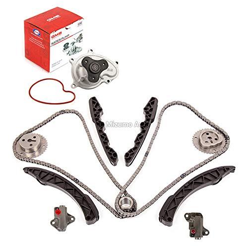 Mizumo Auto MA-9761242960 Timing Chain Kit Water Pump Compatible With/For 11-15 Subaru Forester BRZ 2.0L 2.5L DOHC FA20
