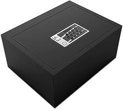 JBAMQ Biometric Fingerprint Safe - Wall Safes Safe Flip Cover Hidden Household Small Safe Deposit Box Electronic Unlock