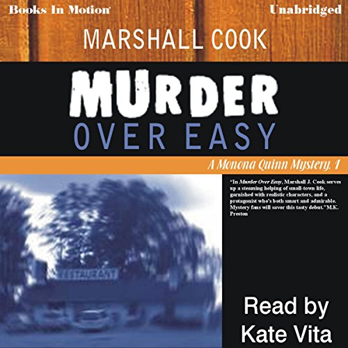 Murder Over Easy audiobook cover art