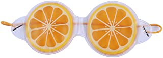 LALANG Fruit Style Relieve Fatigue Eye Masks Beauty Relax Eye Care Cover(lemon)