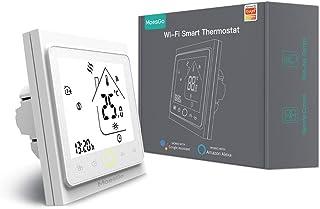 MoesGo Termostato para calefacción eléctrica y regulador de temperatura activado por wifi para hogar digital, compatible c...