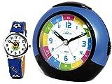 Reloj con Alarma para niños + Reloj de Pulsera para niño Azul - Atlanta 1678-5 KAU