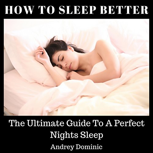 How to Sleep Better audiobook cover art