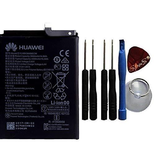 Batteria originale Huawei HB436486ECW per Mate 10 Pro, Mate 20 Pro, P20 Pro, Honor View 20, 4000 mAh, nuova costruzione + attrezzi