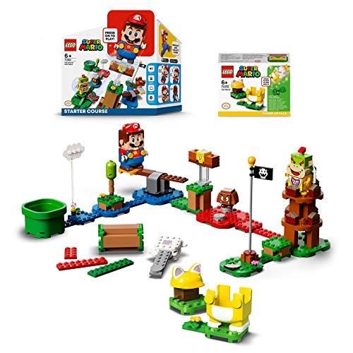lego super mario mario elica LEGO Super Mario Bundle con 2 Set