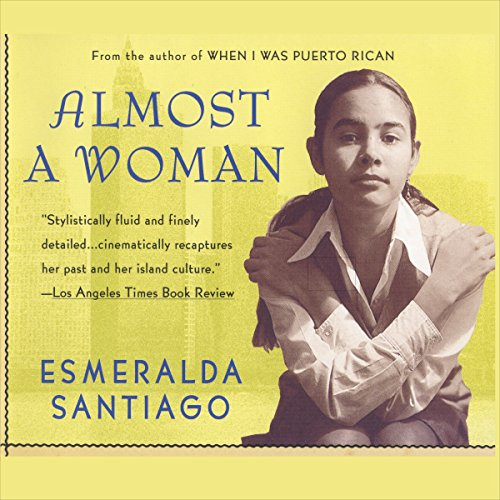 Almost a Woman audiobook cover art