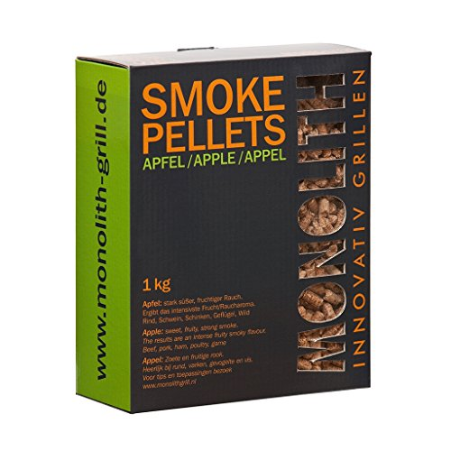 Monolith Smoke Pellets Pomme/Apple 1 kg carton