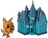 Funko- Pop Figura de Vinilo: Town: Scooby Doo-Haunted Mansion Coleccionable, Multicolor (40203)