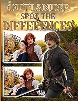 Outlander Spot The Difference  Favorite Book Outlander Adult How Many Differences Activity Books For Men And Women
